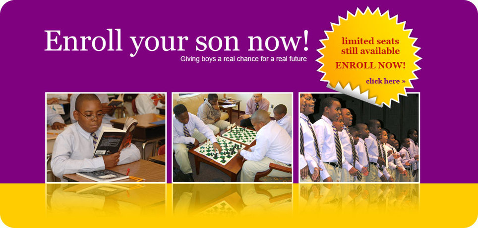 Enroll your son now!